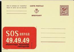 Publibel Neuve N° 2287 ( SOS Repar 49. 49 . 49. ) - Werbepostkarten