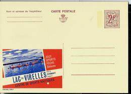 Publibel Neuve N° 2292 ( LAC De VIRELLES - Chimay, Centre De Sports Nautiques) - Werbepostkarten