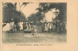 GUINEE BENTY DANSE A LA CALEBASSE  3   (scan Recto-verso)MA1940Bis - Guinée Française