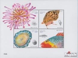 Portugal - Madeira Block36 (kompl.Ausg.) Postfrisch 2007 Meeresfauna - Madeira