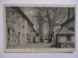 RARE CPA CP CORRÈZE 19 CHAMEYRAT - LA POSTE / 1941 - N° 378 EN ASSEZ BON ETAT - Otros Municipios