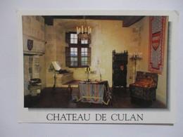 CPA CPSM CP CHER 18 CHÂTEAU DE CULAN - LE CABINET DES ARCHIVES - M.G. EDITIONS BON ETAT - Culan