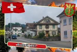Postcard, REPRODUCTION, Municipalities Of Switzerland, Roggwil (BE) - Mapas