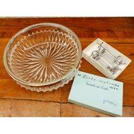 Plat Demi Cristal Porte Couteau Inox - Autres Collections