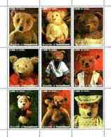 REPUBLIC OF SOMALILAND - Micronation -1999 - Teddy Bears - Perf 9v Sheet - Mint Never Hinged - Sonstige - Afrika