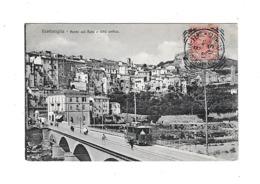 CPA Italie Ventimiglia Ponte Sul Roia Città Antica Raia - Imperia