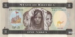 Erythrée 1 Nakfa (P1) 1997 (Pref: AM) -UNC- - Erythrée