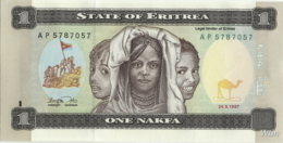Erythrée 1 Nakfa (P1) 1997 (Pref: AP) -UNC- - Eritrea