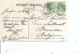 Inde Anglaise ( CP De 1912 De Jaipur Vers La Belgique à Voir) - 1902-11 Roi Edouard VII