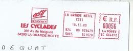 Ema Sata SC - Les Cyclades - Iles - Enveloppe Entière - Marcophilie (Lettres)