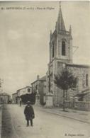 SEPTFONDS (T Et G) Place De L'Eglise Personnage RV - Autres Communes