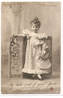 K 1561  VERY OLD ( 1904) FANTASY POSTCARD  , CHILDREN , FINE ART - Sin Clasificación