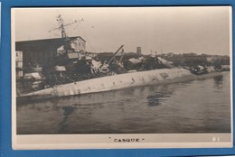 SABOTAGE DE LA FLOTTE DE TOULON LE CASQUE MARINE MILITAIRE BATEAUX DE GUERRE ECHOUE - Warships