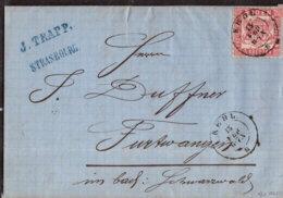 1865 KEHL Bf M. Inh. N. Furtwangen - Germany
