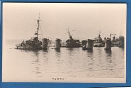 TARTU SABOTAGE DE LA FLOTTE DE TOULON BATEAU ECHOUE GUERRRE - Warships