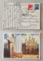 """Cartolina Postale """"Centro Addestramento Reclute"""" Da Orvieto Per Gonars (UD) - 29/01/1948 - 6. 1946-.. Repubblica"""