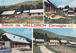 (A180) - VALLORCH (Fregona, Treviso) - Multivedute - Treviso