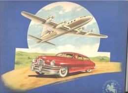 Chocolat JACQUES - Album Chromos COMPLET - Avion Et Automobile, Oldtimer (RMT) - Jacques