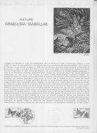 = Papillon, Graellsia Isabellae, Nature Collection Historique Du Timbre Poste 1er Jour Gap 31.5.80 N°2089 - Documents Of Postal Services