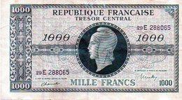 Billet 1000 F Marianne - Tesoro