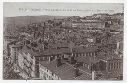 (RECTO / VERSO) SAINT ETIENNE EN 1916 - N° 263 - VUE GENERALE DU CRET DE ROCH - CPA - Saint Etienne