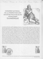= Congrès National Fédération Sociétés Philatélique Collection Historique Timbre Poste 1er Jour Dunkerque 24.5.80 N°2088 - Documents Of Postal Services