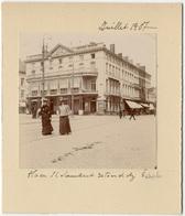 Liège,  Place St Lambert, Juillet 1907, Tirage Original D'époque Au Citrate FG0358 - Lieux