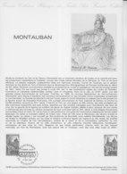 = Les Monuments Et Le Tarn Montauban Collection Historique Du Timbre Poste 1er Jour Montauban 17.5.80 N°2083 - Documents Of Postal Services