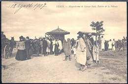 RC454 TUNIS - HIPPODROME DE KASSAR SAID , ENTREE DE LA PELOUSE - Tunisia