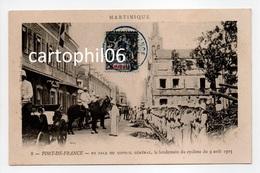 - CPA FORT-DE-FRANCE (Martinique) - En Façe Du Conseil Général, Le Lendemain Du Cyclone Du 9 Août 1903 - - Fort De France