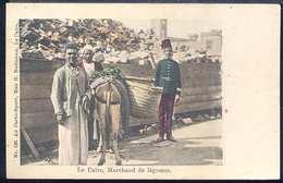 RC455 LE CAIRE , MARCHAND DE LEGUMES - Street Merchants