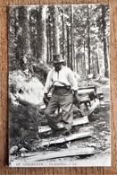 Carte Postale Ancienne GERARDMER - UN SCHLITTEUR - Carte LL N° 62 - 1915 - Gerardmer