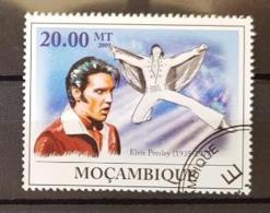 MOZAMBIQUE Elvis Presley 1 Valeur Oblitérée émise En 2009 - Elvis Presley