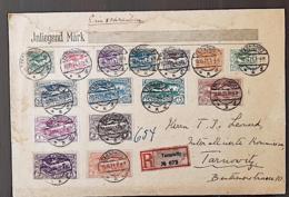 HAUTE SILESIE, Lettre, Cover, Lettre Recommandée En 1921 Pour TARNOWITZ (commission Interalliée) - Silesia (Lower And Upper)