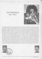 = Cathédrale Du Puy En Velay Collection Historique Du Timbre Poste 1er Jour Le Puy 10.5.80 N°2084 - Documents Of Postal Services