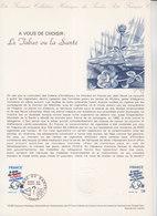= A Vous De Choisir, Le Tabac Ou La Santé, Collection Historique Du Timbre Poste 1er Jour Paris 5.4.80 N°2080 - Documents Of Postal Services