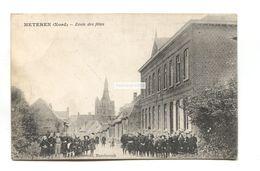 Meteren, Nord - Ecole Des Filles - Old France Postcard - Otros Municipios