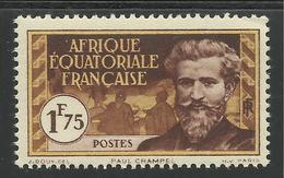AFRIQUE EQUATORIALE FRANCAISE - AEF - A.E.F. - 1937 - YT 55** - Neufs