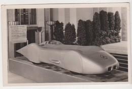 27570 Reich Photokarte Der IAA Berlin Mercedes Benz Rekordwagen  -Nazi Automobile -1939 Vitesse Voiture Sport Vitesse - Cartes Postales