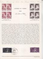 = Journée Du Timbre, La Lettre à Mélie, D'Avati, Collection Historique Du Timbre Poste 1er Jour Paris 8.3.80 N°2078 - Documents Of Postal Services