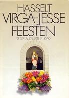 Brochure Toerisme Tourisme -  Virga Jesse Feesten - Hasselt 1989 - Dépliants Touristiques