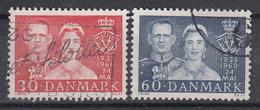 DENEMARKEN - Michel - 1960 - Nr 381/82 - Gest/Obl/Us - Danemark