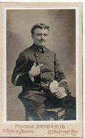 Photo CDV Portrait De Marin Photographie Gendraud Clermont-Ferrand 1920 - Guerre, Militaire