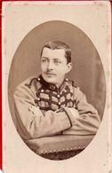 CDV Portrait Militaire, 1880 Photo Brackelaire Tournai ( Belgique ) - Guerre, Militaire