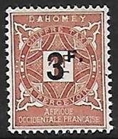 DAHOMEY TAXE N°18 N* - Nuovi