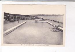 CPA PHILIPPEVILLE, PISCINE JEANNE D ARC - Skikda (Philippeville)