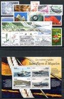 RC 16432 ST PIERRE ET MIQUELON COTE 63,30€ - 2006 ANNÉE COMPLETE SOIT 22 TIMBRES N° 860 / 881 NEUF ** MNH TB - Unused Stamps