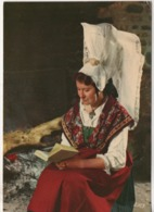 Cpa.Folklore.Normandie.La Coiffe De St-Sever.1973 - Costumes