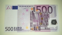 EURO-FINLAND 500 EURO (L) D001 Sign DUISENBERG UNC - EURO