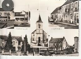 61 - Carte Postale Semi Moderne De   TANVILLE   Notre Bourg    Multi Vues - Other Municipalities